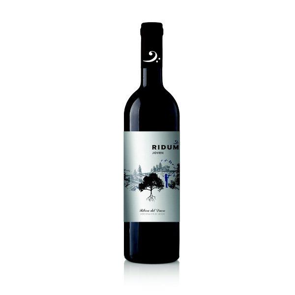 Ung spansk rødvin fra Ribera del Duero