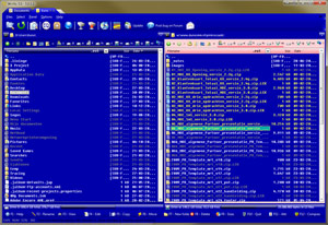 Norton Commander file manager for Windows 10