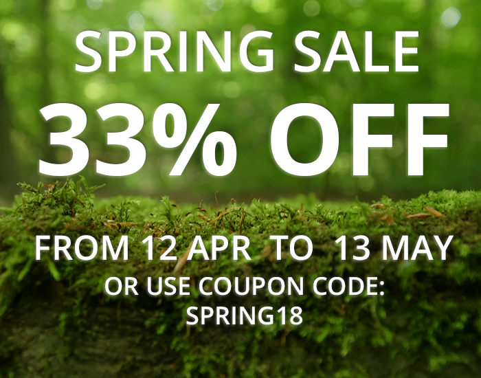 WinNc available with 33% off spring sale