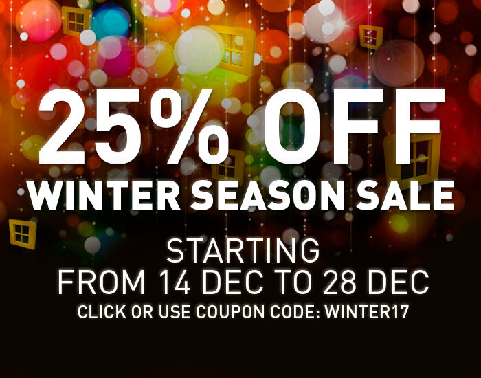 WinNc 8.0.0.0 with 25% off – Winter Season sale