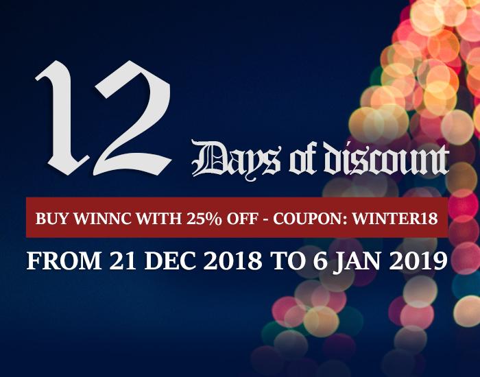 WinNc discount 2018