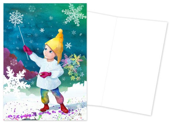 Anya Winqvist - snowflowers