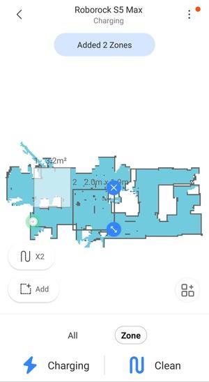 roborock s5 zones