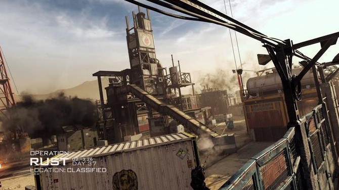 Call of Duty: Modern Warfare's second season brings back the classic map Rust, which first appeared in 2009's Call of Duty: Modern Warfare 2