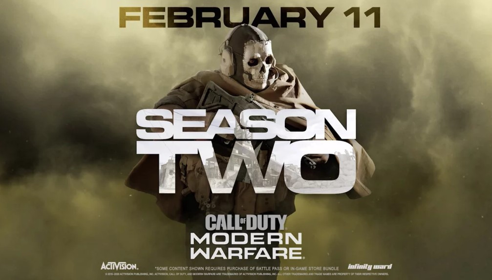 Gary's hints were released ahead of the launch of Call of Duty: Modern Warfare's second season