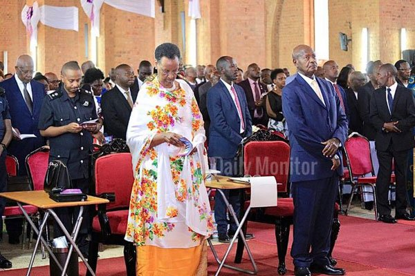 The First Lady, Janet Museveni and President