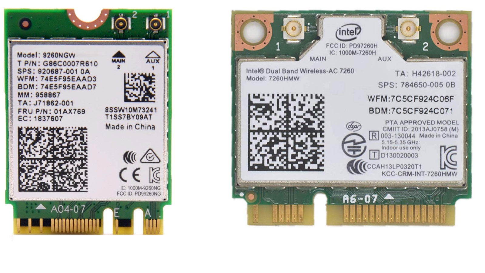 How to upgrade laptop wi-fi card