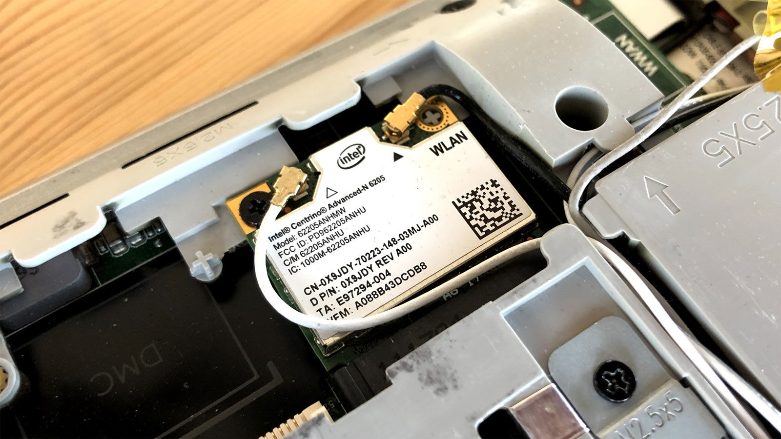 How to upgrade a laptop's WI-Fi card