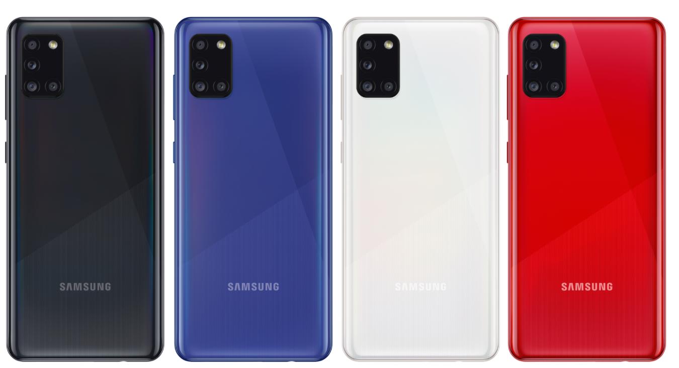 Galaxy A31 colors