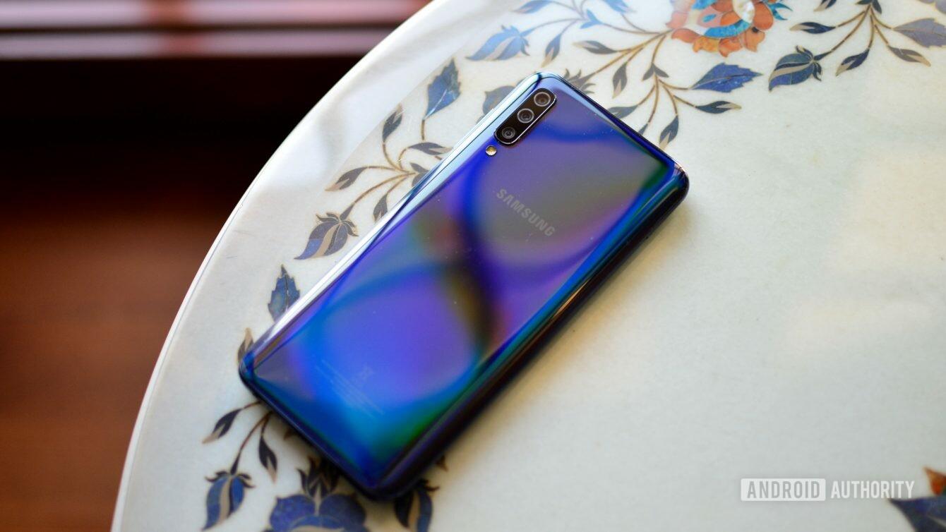 Samsung Galaxy A50 rear panel