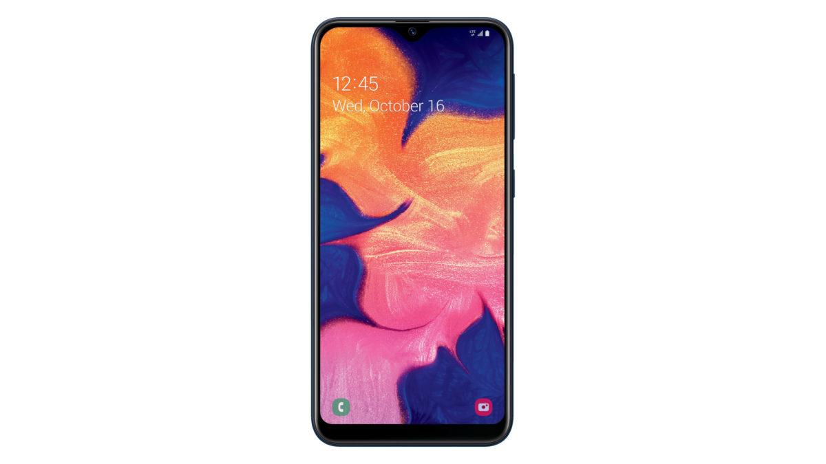 Samsung Galaxy A10e press render