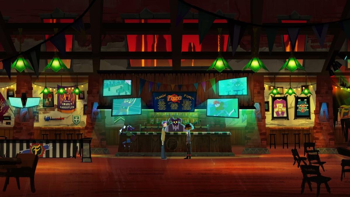Afterparty bar screenshot