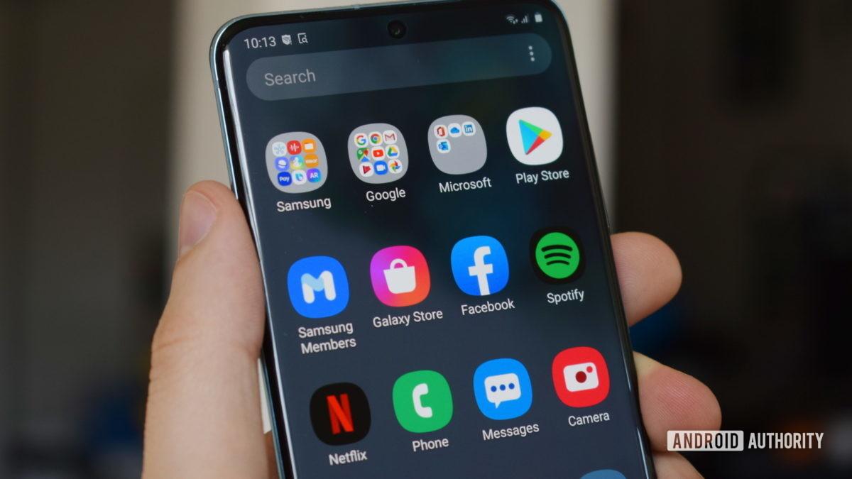 Samsung Galaxy S20 Apps 1