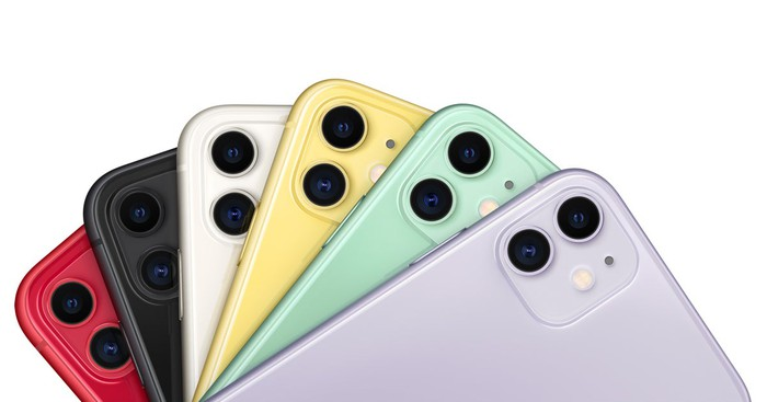 Apple iPhone 11 in various colors