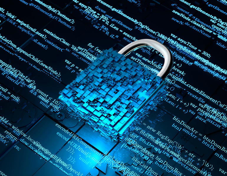 Security LockElectronic network data security, data protection and electronic technology, financial network security