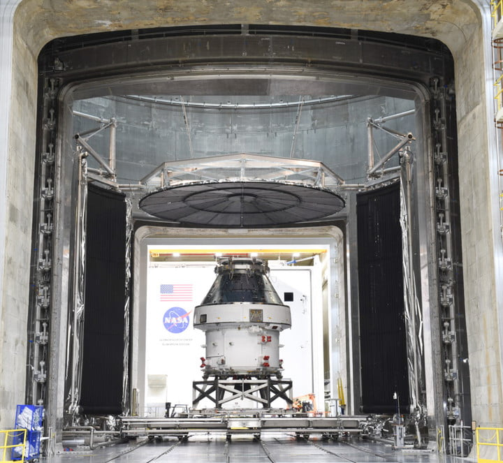 The Orion spacecraft completes its testing