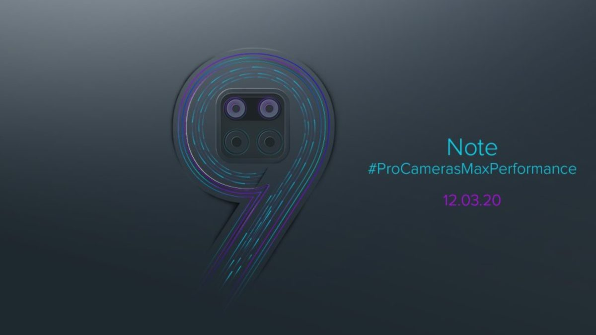 Xiaomi Redmi Note 9 announcement teaser