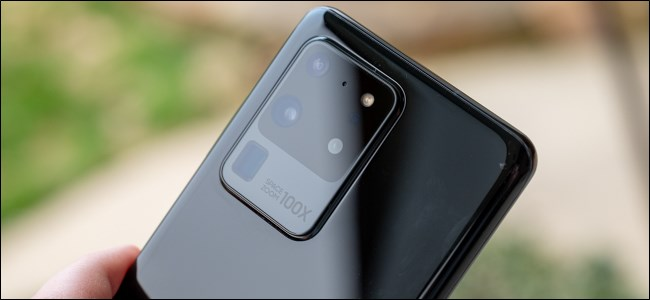 Samsung Galaxy S20 Camera Bump