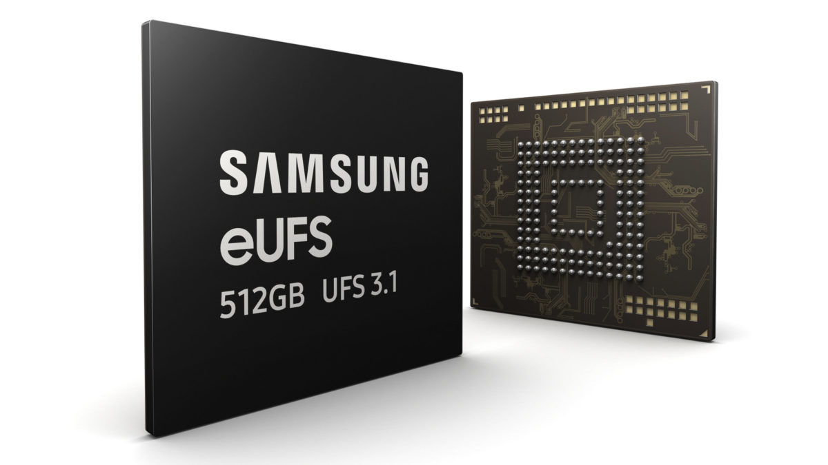 Samsung has started production of UFS 3.1 storage.