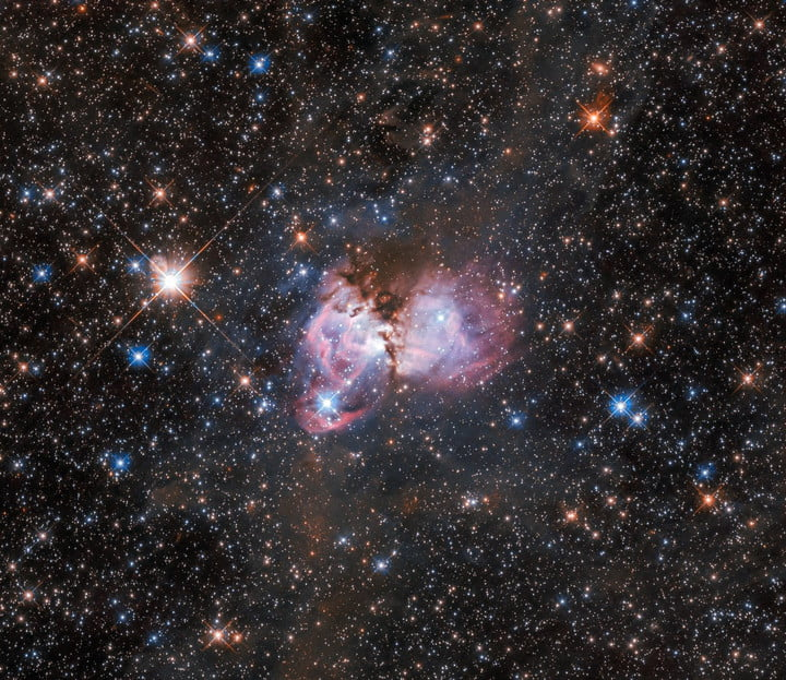 This image shows a region of space called LHA 120-N150.