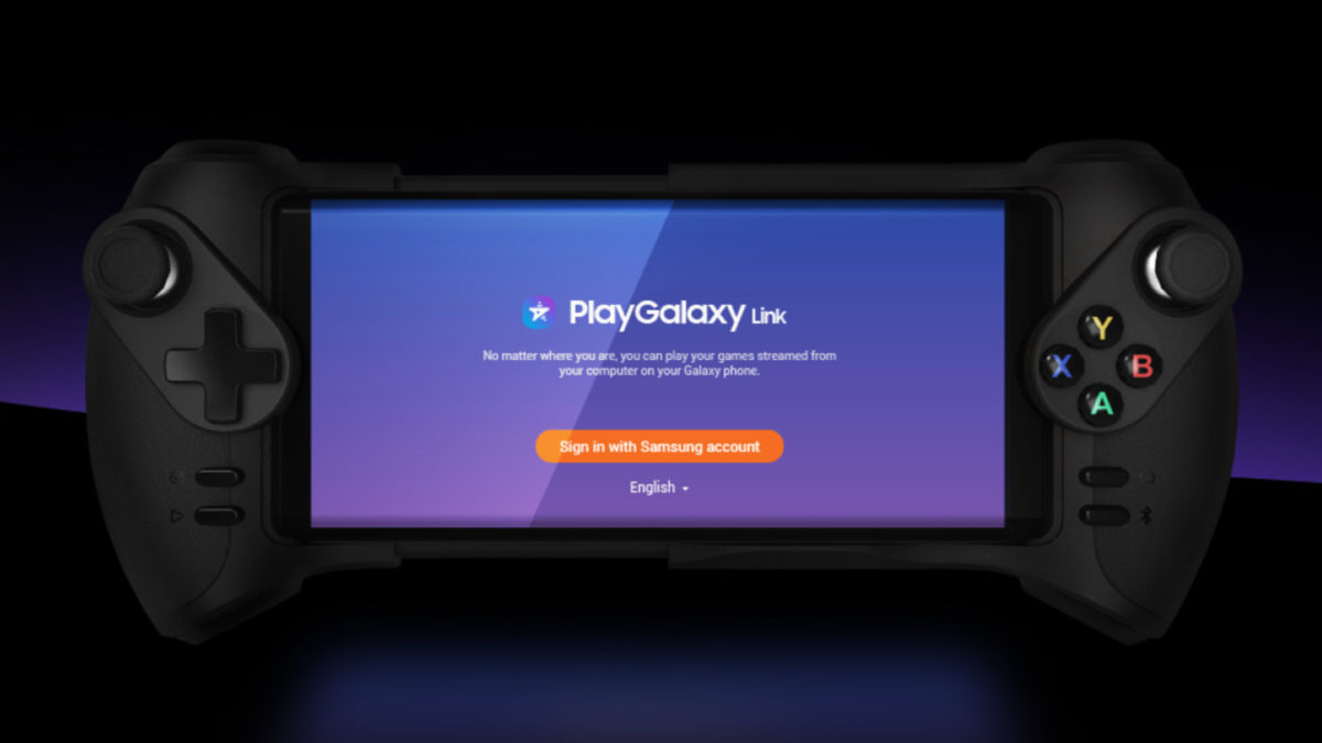 Samsung PlayGalaxy Link and a Glap controller.