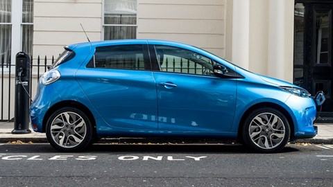 Renault Zoe - qualifies for the Plug-in Car Grant