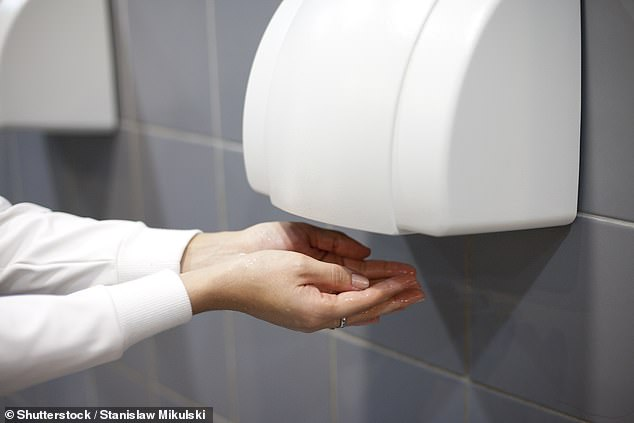 In the study they found ten out of 11 surfaces touched by someone who used a hand dryer had significantly more contamination than from people using a paper towel.