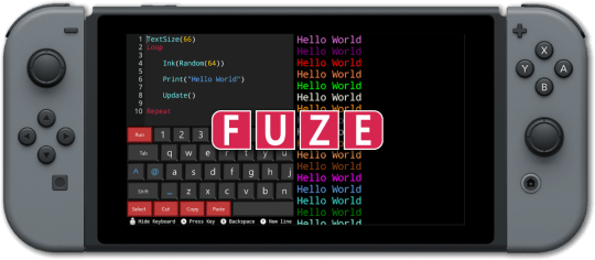 Fuze4 Nintendo Switch is a coding platform for the game console (Fuze4 Technologies)