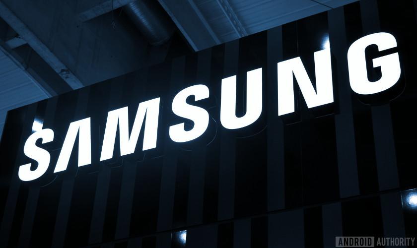 The Samsung logo.