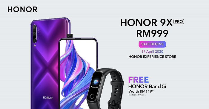 HONOR Malaysia launches new lifestyle products, led by the 9X Pro smartphone