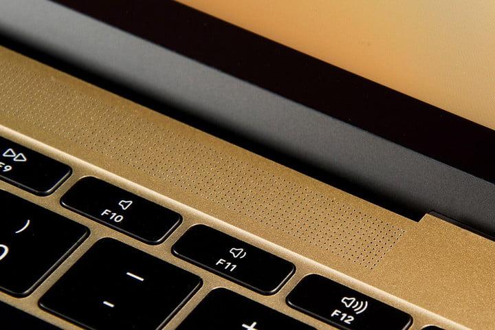 Apple MacBook Gold 2015 speaker grill 2