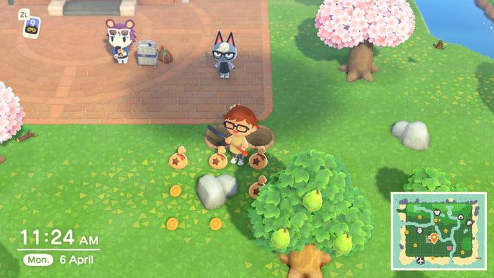Animal Crossing money rock method