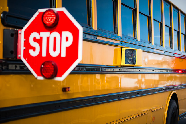 School districts can have their entire school bus fleet equipped with the latest safety technology at no cost. The Stop-Arm enforcement program includes GPS, full-fleet management, Zonar SafeTech Solution, student tracking, equipment maintenance, upgrades, telecommunication services (connectivity), storage, and real-time remote data access.