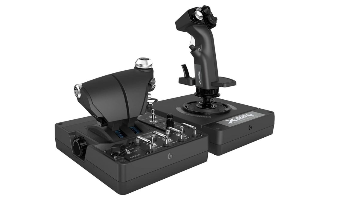 Logitech G X56 flight stick