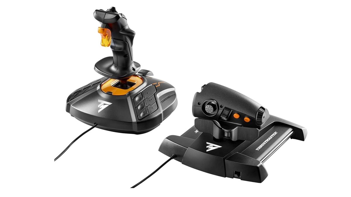 Thrustmaster T16000M FCS flight stick