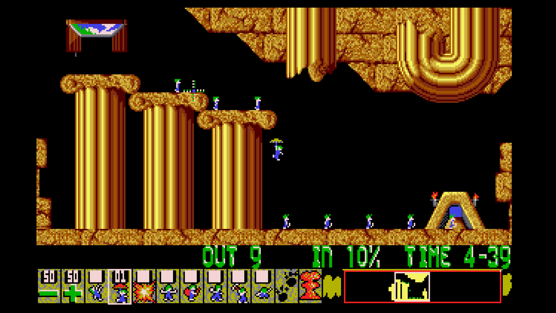 Retro Replay Lemmings: Level Two