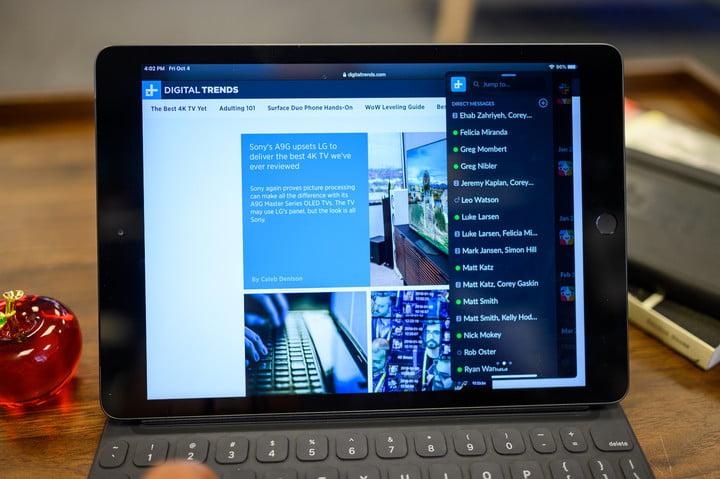 iPad 10.2-inch slide over