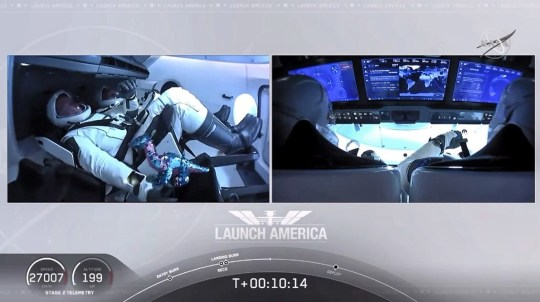 SpaceX Dragon Mission on Nasa TV