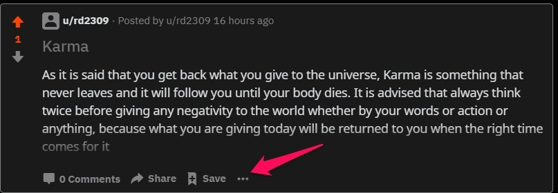 reddit three dots button