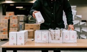 Food banks have been running short of staple goods.
