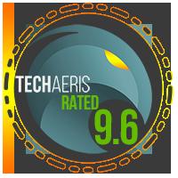 Techaeris Rated 9.6/10