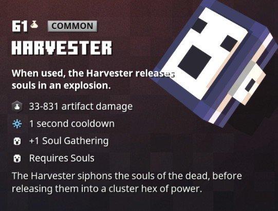 Minecraft Dungeons Harvester