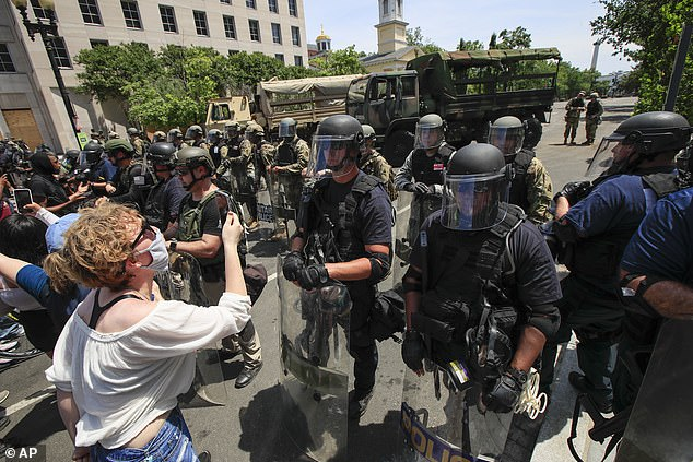Another issues that rose out of the 1033 program, according to political scientists, is that the Department of Defense does not train police officers how to properly use military weapons