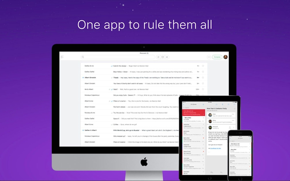 Newton Mail apps