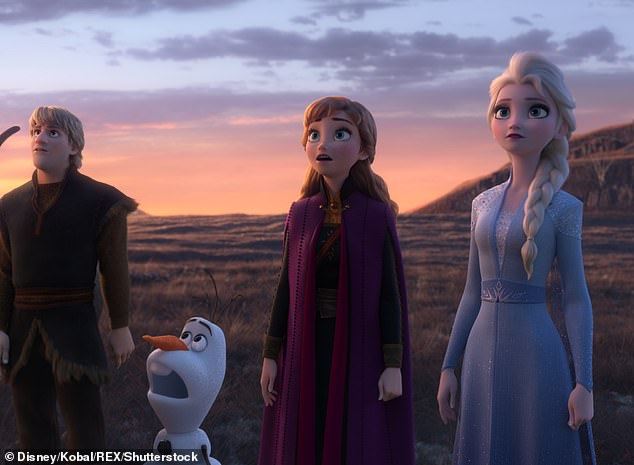 Princess Elsa was not scored as real by children, but instead identified as a fictional character