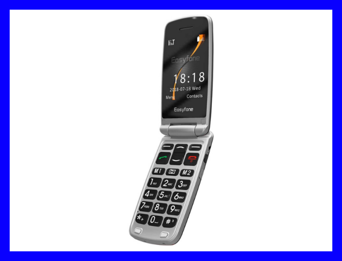 Get the Easyfone A1 3G Flip Phone for $65. (Photo: Easyfone)