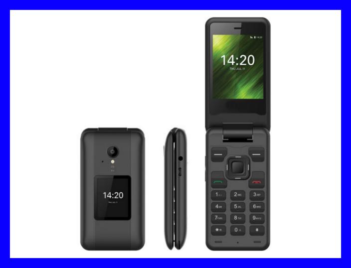 Get the NUU F4L Flip Phone for $80. (Photo: NUU)