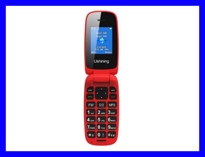 Get the Ushining 3G Flip Phone for $33. (Photo: Ushining)