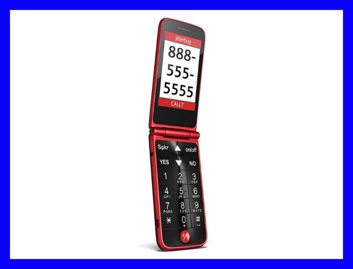 Get the Jitterbug Flip Phone for $75. (Photo: Jitterbug)