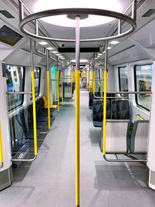 MOVIA C30 metro seating area